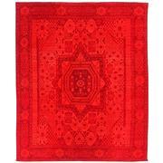 Sale 8890C - Lot 14 - Afghan Mamluk Overdye Carpet, 300x243cm, Handspun Wool