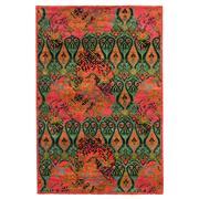 Sale 8911C - Lot 11 - Afghan Fine Ikat Revival Design Carpet, 275 x 185cm, Handspun Ghazni Wool