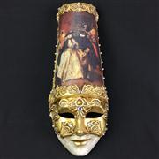 Sale 8402D - Lot 11 - Venetian Papier Mache Mask with Authentication Stamp (Length - 48cm)