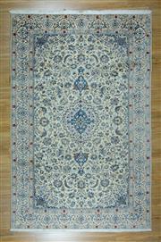 Sale 8625C - Lot 53 - Super Fine Persian Nain Silk Inlaid 326cm x 211cm