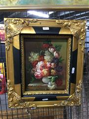 Sale 8750 - Lot 2075 - Artist Unknown - Still Life, 24x19cm