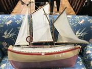 Sale 8787 - Lot 1038 - Large Timber Pond Yacht