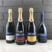Sale 8970W - Lot 36 - 4x Blue Pyrenees Estate Sparkling Wines - 2016 Midnight Cuvee, 2016 Vintage Brut, NV Sparkling Shiraz & NV Luna