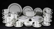 Sale 9015 - Lot 10 - Wedgwood Charisma Susie Cooper design dinner setting