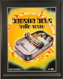 Sale 9136 - Lot 74 - Beastie Boys Hello Nasty Poster (98cm x 78cm)