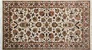 Sale 8290A - Lot 70 - Indo Kashan Silk & Wool 153cm x 89cm RRP $800