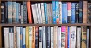 Sale 8486A - Lot 87 - Two shelf lots of books, mainly hardbacks