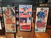 Sale 8705 - Lot 1064 - Set of (3) Movie Poster Bills: The Shadow; Chick Carter, Detective, Holt of the Secret Service, colour lithographs -