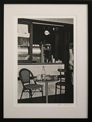 Sale 8734A - Lot 63 - Lynn Pearce - Cafe Berlin, Balmain, 2013 60 x 46cm (frame size)