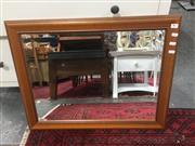 Sale 8822 - Lot 1703 - Timber Framed Mirror
