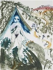 Sale 8938A - Lot 5013 - Arthur Boyd (1920 - 1999) - The Princess of Shamakhan 85 x 62 cm (frame: 116 x 95.5 x 5 cm)