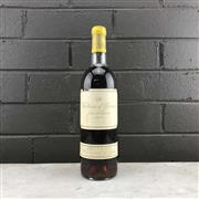Sale 8987 - Lot 613 - 1x 1975 Chateau dYquem, 1er Cru Superieur, Sauternes - level at very high shoulder, cellared marked label