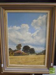 Sale 8513 - Lot 2023 - Ron Cameron - Cloud Shadows, Caboolture, QLD 42 x 29.5cm
