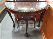 Sale 8744 - Lot 1067 - Demilune Hall Table