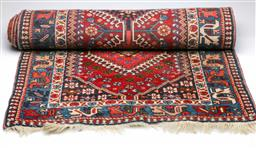 Sale 9093P - Lot 59A - Persian Yalameh Wool Multi-Coloured Runner (86cm x 293cm)