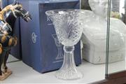 Sale 8348 - Lot 55 - Bohemia Cut Crystal Centre Piece with Original Box
