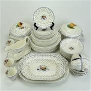 Sale 8413 - Lot 40 - Copeland Spode Spodes Polka Dot Dinner Wares