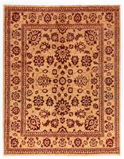 Sale 8372C - Lot 89 - An Afghan Chobi Naturally Dyed In Hand Spun Wool, Very Suitable To Australian Interiors, 257 x 203cm