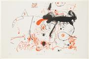 Sale 8794A - Lot 5011 - John Olsen (1928 - ) - Cat Kitchen I, 1978 98 x 120cm