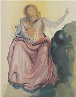 Sale 9108A - Lot 5054 - Salvador Dali (1904 - 1989) - Beatrice Resolves 45 x 61 cm