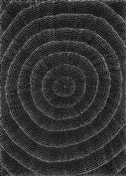 Sale 8321 - Lot 600 - Lily Kelly Napangardi (1948 - ) - Rock Holes 95 x 72cm