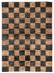Sale 8372C - Lot 99 - An Afghan Chobi Naturally Dyed In Hand Spun Wool, Very Suitable To Australian Interiors, 247 x 180cm