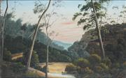 Sale 8781 - Lot 601 - Phillip Lee (active 1880s - 90s) - Bush Scene with Stream 29.5 x 44.5cm