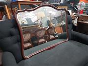 Sale 8863 - Lot 1031 - Carved Mahogany Framed Mirror