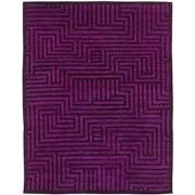 Sale 8890C - Lot 19 - Afghan Overdyed Mamluk Carpet, 294x228cm, Handspun Ghazni Wool