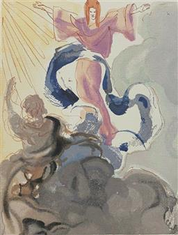 Sale 9108A - Lot 5055 - Salvador Dali (1904 - 1989) - Piccarda Donati 33 x 26 cm
