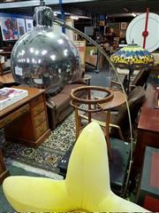 Sale 8462 - Lot 1041 - Chrome Arc Lamp