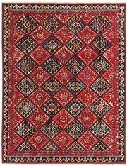 Sale 8630A - Lot 51 - A Cadrys Numdah design knotted handspun wool rug, 255 x 328cm
