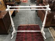 Sale 8787 - Lot 1076 - Timber Towel Rail