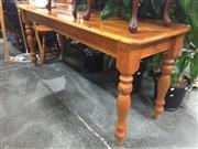 Sale 8822 - Lot 1748 - Timber Hall Table