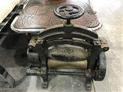 Sale 9039 - Lot 1073 - Large Cast Iron Mangle Gust. Rafflenbeul Schwelm