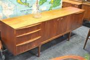 Sale 8338 - Lot 1021 - Quality McIntosh Teak Sideboard