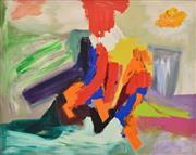 Sale 8325 - Lot 506 - Paul Atroshenko (1934 - ) - Red Flutter, 1983 120.5 x 152cm