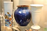 Sale 8365 - Lot 67 - Bourne Denby Vase Together with A Wedgewod & West German Example (3)