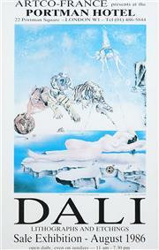 Sale 8483 - Lot 2004 - Salvador Dali ( - Rêve causé par le vol dune abeille autour dune pomme-grenade ... 39 x 30cm (sheet size: 57.5 x 36.5cm