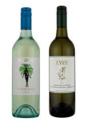 Sale 8520W - Lot 91 - 12x Evoi Wines, Margaret River.  6x NV 'Backenal' White. 6x 2015 Sauvignon Blanc Semillon.  NV Backenal White: The grape...
