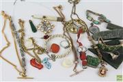 Sale 8608 - Lot 92 - Antique & Antique Style Jewellery & Nephrite Pieces