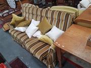 Sale 8676 - Lot 1370 - Retro Fabric Two Piece Lounge Suite