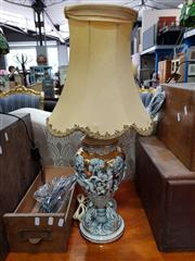 Sale 8688 - Lot 1071 - Capodimonte Table Lamp