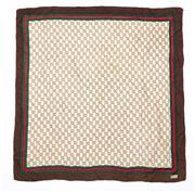 Sale 8760F - Lot 30 - A vintage Gucci monogram silk scarf