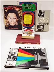 Sale 8822B - Lot 842 - 6 Volumes on Film incl. Angell, B. The Entertainment Machine, pub. Horwitz Pub., 1970; Reade, E. The Australian Screen, pub. Lans...