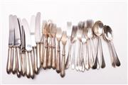 Sale 9018O - Lot 862 - A Collection of Silver Plated Cutlery inc Walker & Hall
