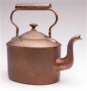Sale 9060 - Lot 33 - A Copper Kettle W:30cm