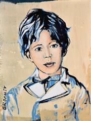 Sale 8394 - Lot 544 - David Bromley (1960 - ) - Southern Boy 80 x 60cm