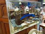 Sale 8462 - Lot 1095 - Vintage Test Cricket Mirror