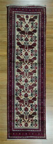 Sale 8625C - Lot 60 - Persian Lilian 305cm x 85cm